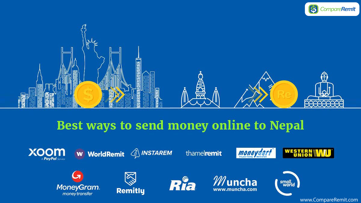 Best Ways To Send Money Online Nepal