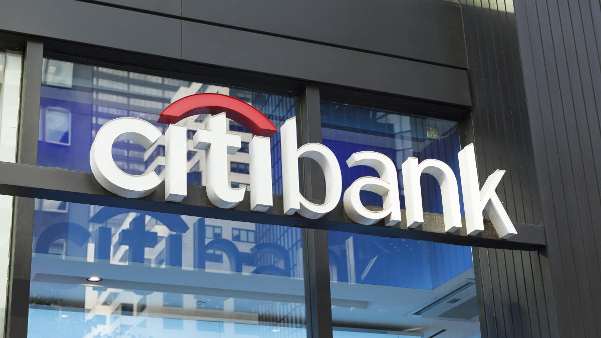 Citibank Logo Store Front