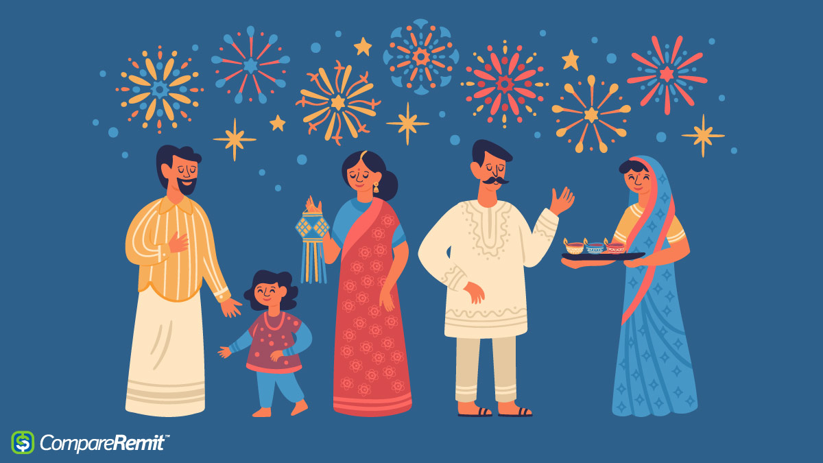 diwali celebrations with Remit2India